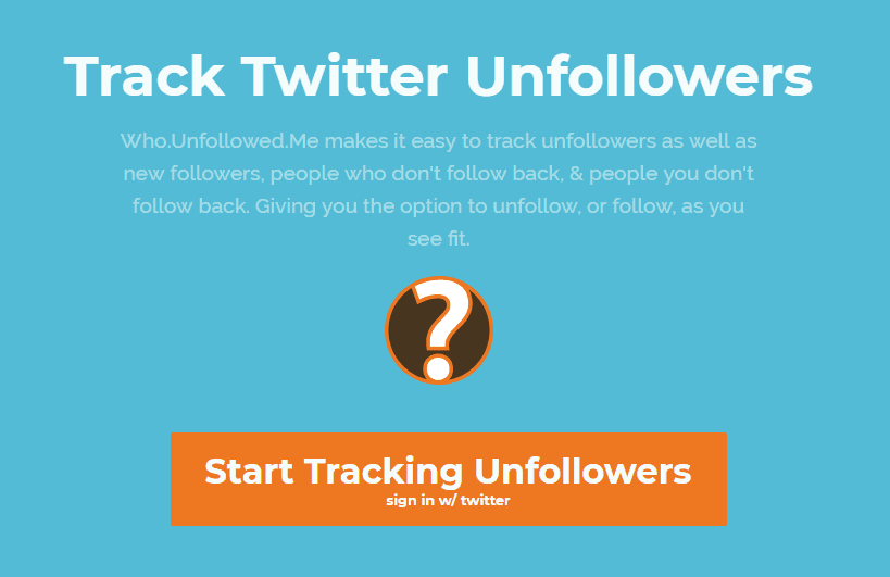 Inicio 'who unfollowed me'